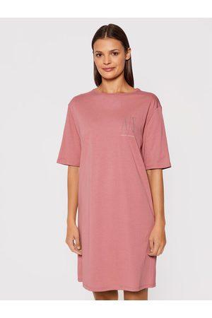 Armani Exchange Sukienka codzienna 8NYADX YJG3Z 6458 Regular Fit