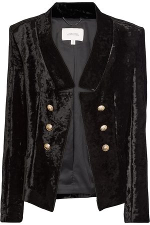 Dorothee Schumacher Kobieta Marynarki i Żakiety - Button-embellished velvet blazer