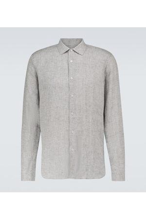 Orlebar Brown Mężczyzna Na co dzień - Giles linen long-sleeved shirt