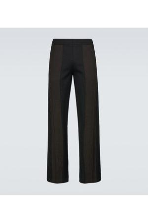 Bottega Veneta Spodnie - Straight-fit technical pants