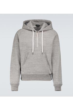 Tom Ford Fleck mélange hooded sweatshirt