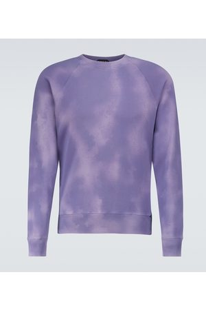 Tom Ford Tie-dye cotton sweatshirt