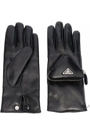 Prada Mężczyzna Rękawiczki - Black