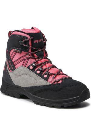 Alpina Dziewczynka Buty trekkingowe - Trekkingi - Alv Jr 630G-4K Pink/Grey