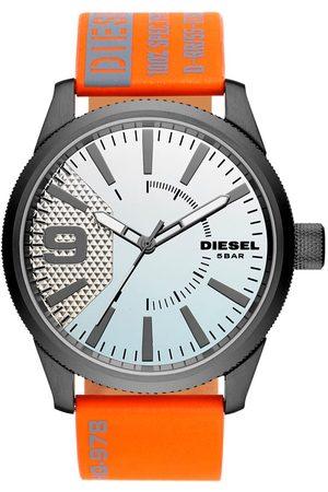 Diesel Mężczyzna Zegarki - Zegarek - Classic DZ1933 Orange/Grey