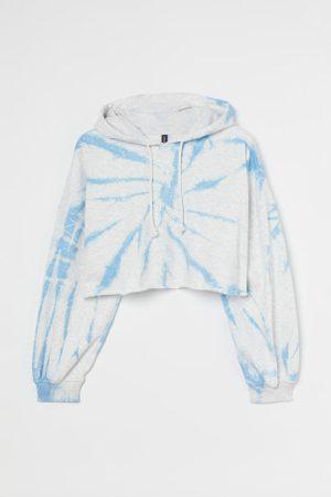 H&M + Krótka bluza z kapturem