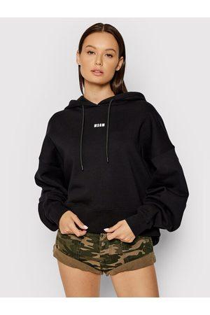 Msgm Kobieta Bluzy sportowe - Bluza 2000MDM509 200001 Regular Fit