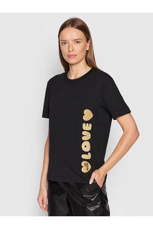 Love Moschino Kobieta Z krótkim rękawem - T-Shirt W4H0616M 3876 Regular Fit