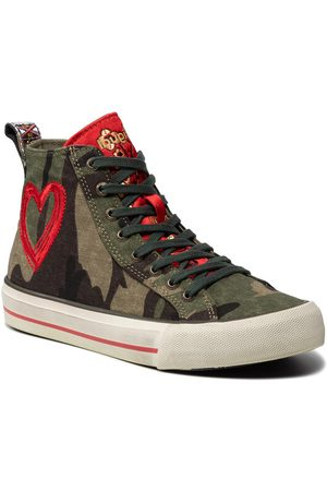 Desigual Kobieta Sneakersy - Sneakersy Beta Militar 21WSKA13