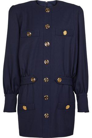 Balmain Kobieta Sukienki - Buttoned wool minidress