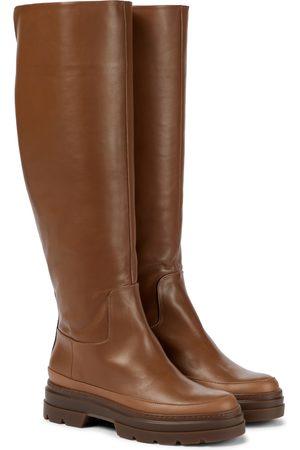 Max Mara Beryl leather knee-high boots