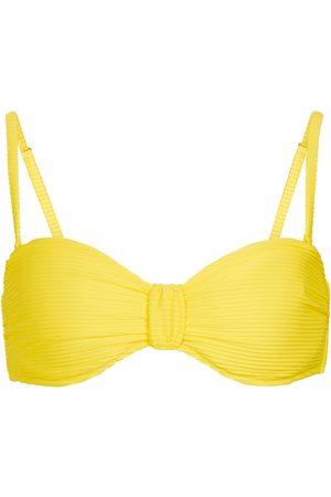 Heidi Klein Cascais bandeau bikini top