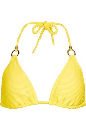 Heidi Klein Cascais triangle bikini top