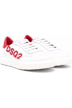 Dsquared2 Chłopiec Sneakersy - White