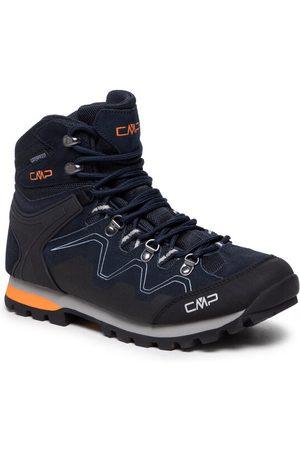 CMP Mężczyzna Buty trekkingowe - Trekkingi Athunis Mid Trekking Shoe Wp 31Q4977 Granatowy