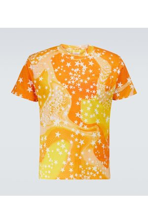 ERL Z krótkim rękawem - Star-printed cotton T-shirt