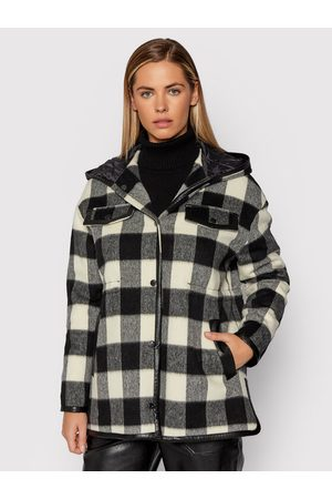 Liu Jo Kobieta Płaszcze - Płaszcz wełniany WF1396 T3015 Regular Fit