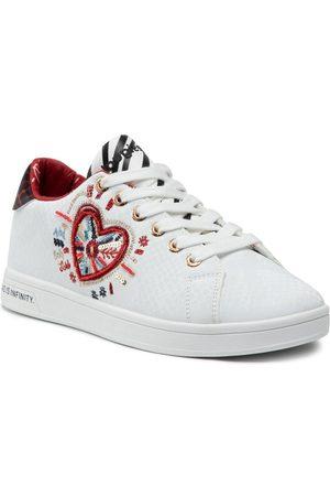 Desigual Kobieta Sneakersy - Sneakersy Shoes Cosmic Heart 21WSKP07