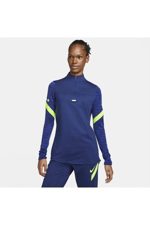 Nike Damska treningowa koszulka piłkarska z zamkiem 1/4 Dri-FIT Strike