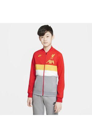 Nike Bluzy sportowe - Dresowa bluza piłkarska dla dużych dzieci Liverpool FC