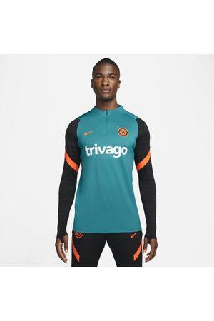 Nike Mężczyzna Sportowe Topy i T-shirty - Męska treningowa koszulka piłkarska Dri-FIT Chelsea FC Strike