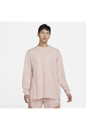Nike Kobieta Z krótkim rękawem - Damska koszulka z długim rękawem Air