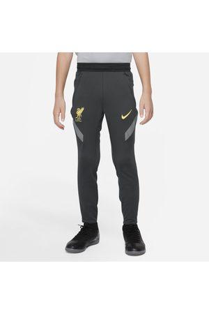 Nike Dresy - Spodnie piłkarskie dla dużych dzieci Liverpool FC Strike Dri-FIT - Czerń