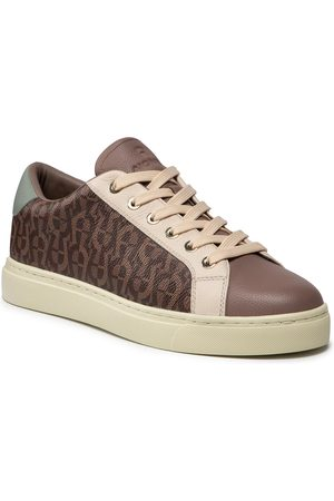 Aigner Sneakersy - Diane 5 1212460 Fango/Off White