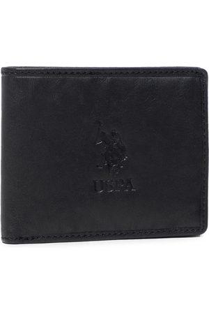 Ralph Lauren Duży Portfel Męski - Horiz. Wallet W WIUUY2261MHA000 Leather Black