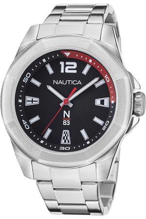 Nautica Mężczyzna Zegarki - Zegarek - NAPTBF104 Silver/Silver