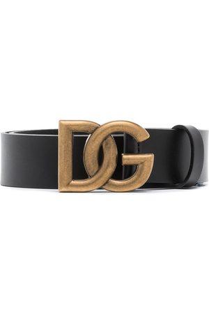 Dolce & Gabbana Mężczyzna Paski - DG INTRLCK LOGO BUCKLE 35 BELT