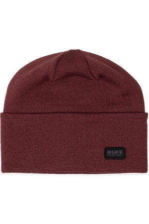 Buff Kobieta Czapki - Czapka Knitted Hat Niels 126457.304.10.00 Bordowy