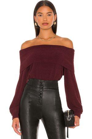 Bobi Kobieta Swetry i Pulowery - BLACK Fuzzy Sweater in - . Size L (also in M, S, XS).