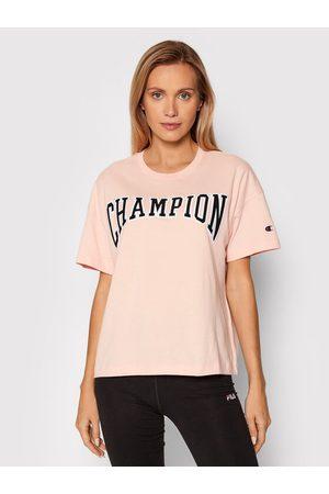 Champion T-Shirt Collegiate Logo 114526 Oversize