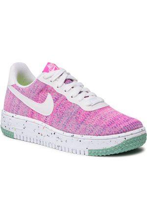 Nike Kobieta Sneakersy - Buty Af1 Crater Flyyknit DC7273 500