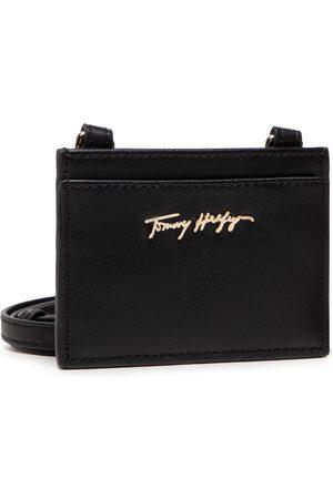 Tommy Hilfiger Etui na karty kredytowe - Essential Leather Cc Holder AW0AW10536 BDS