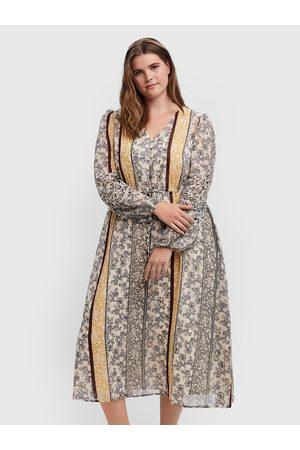 VERO MODA Kobieta Sukienki dzienne - Sukienka codzienna Nora 10251640 Loose Fit