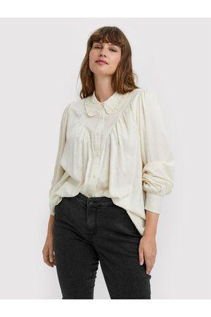 VERO MODA Kobieta Koszule - Koszula Nanna 10251637 Loose Fit