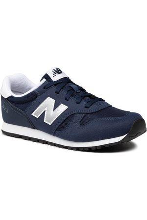 New Balance Sneakersy YC373KN2 Granatowy