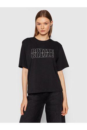 ROTATE Kobieta Z krótkim rękawem - T-Shirt Aster Tee RT444 Loose Fit