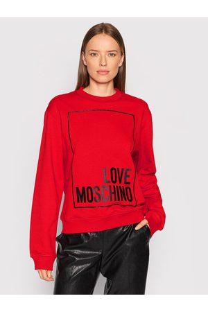 Love Moschino Kobieta Bluzy sportowe - Bluza W630647M 4055 Regular Fit