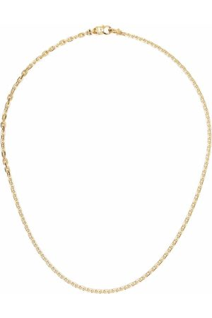TOM WOOD Anker -plated sterling silver chain necklace