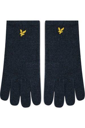 Lyle & Scott Rękawiczki Męskie Racked Rib Gloves GL304CL Granatowy