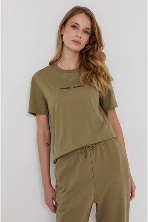 Samsoe Samsoe Kobieta Z krótkim rękawem - T-shirt bawełniany
