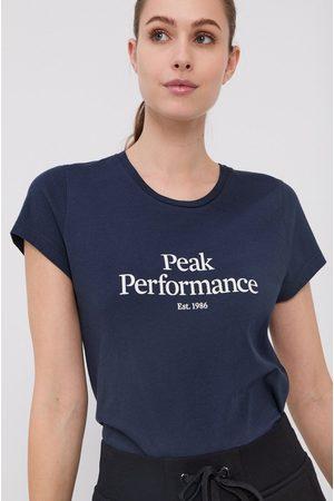 Peak Performance Kobieta Z krótkim rękawem - T-shirt bawełniany