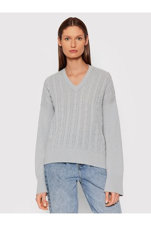 Benetton Kobieta Swetry i Pulowery - Sweter 1244D4447 Relaxed Fit