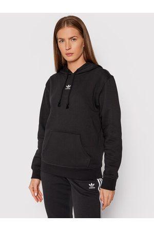 adidas Kobieta Bluzy sportowe - Bluza adicolor Essentials Fleece H34725 Regular Fit