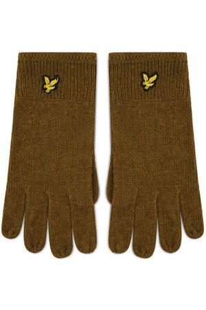 Lyle & Scott Mężczyzna Rękawiczki - Rękawiczki Męskie Racked Rib Gloves GL304CL