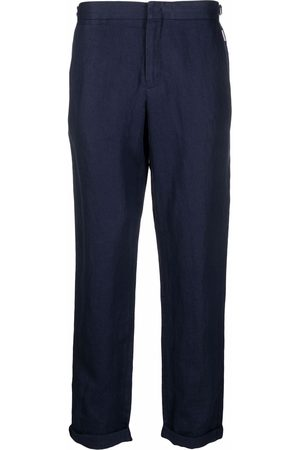 Orlebar Brown Spodnie eleganckie - Blue