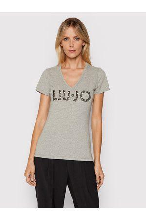Liu Jo Kobieta Z krótkim rękawem - T-Shirt WF1192 J5003 Slim Fit
